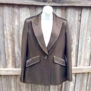 Ellen Tracy Wool Polyamide Jacket